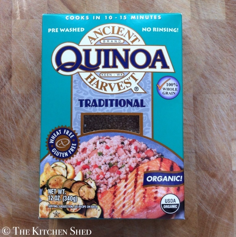 The Kitchen Shed - Healthy Alternatives - Quinoa
