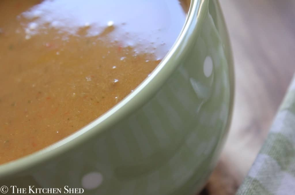 The Kitchen Shed - Clean Eating Springtime Vegetable and Lentil Soup