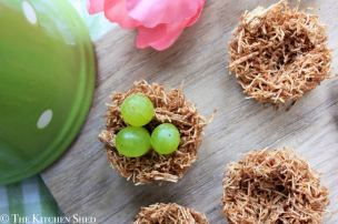 Clean Eating Easter Nests