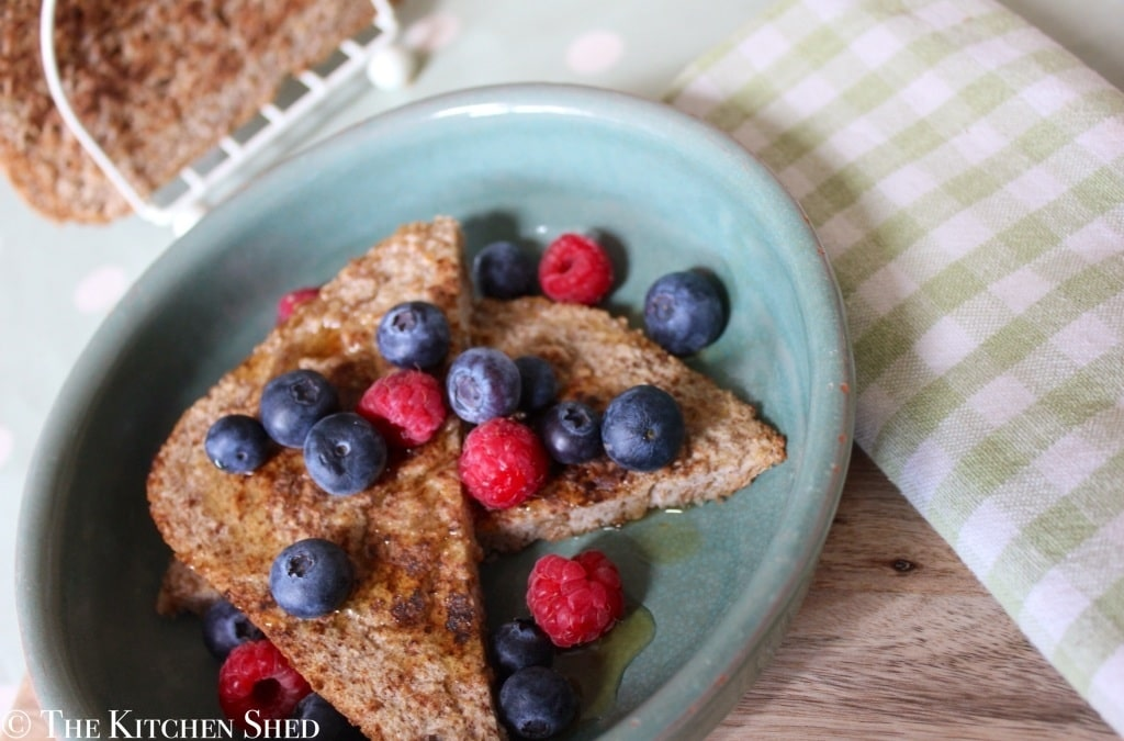 Clean Eating Cinnamon French Toast