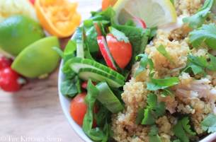 Clean Eating Chicken Citrus Quinoa