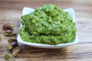 Clean Eating Parsley Pistachio Pesto