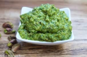 Clean Eating Parsley Pistachio Pesto