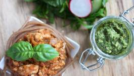 Clean Eating Pesto Turkey Bolognese