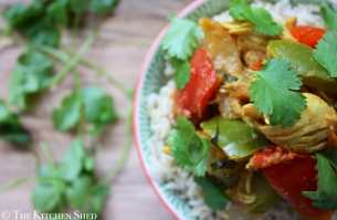 Clean Eating Chicken Bhuna Curry