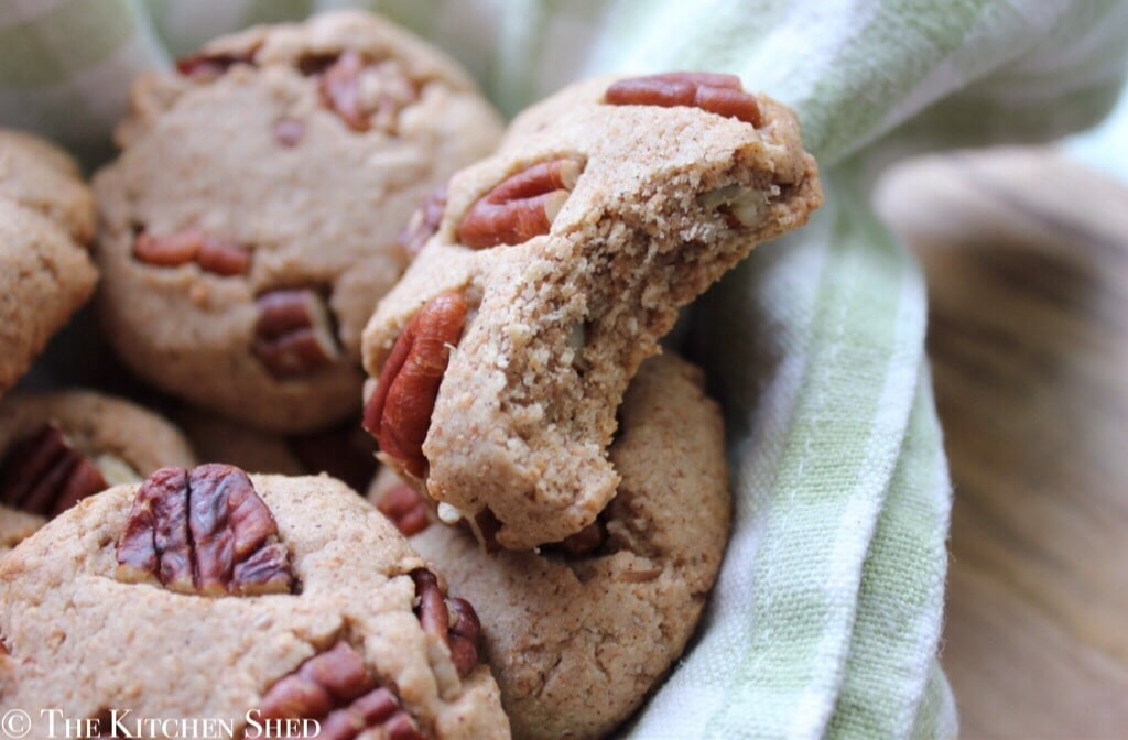 Clean Eating Maple Pecan Cookies