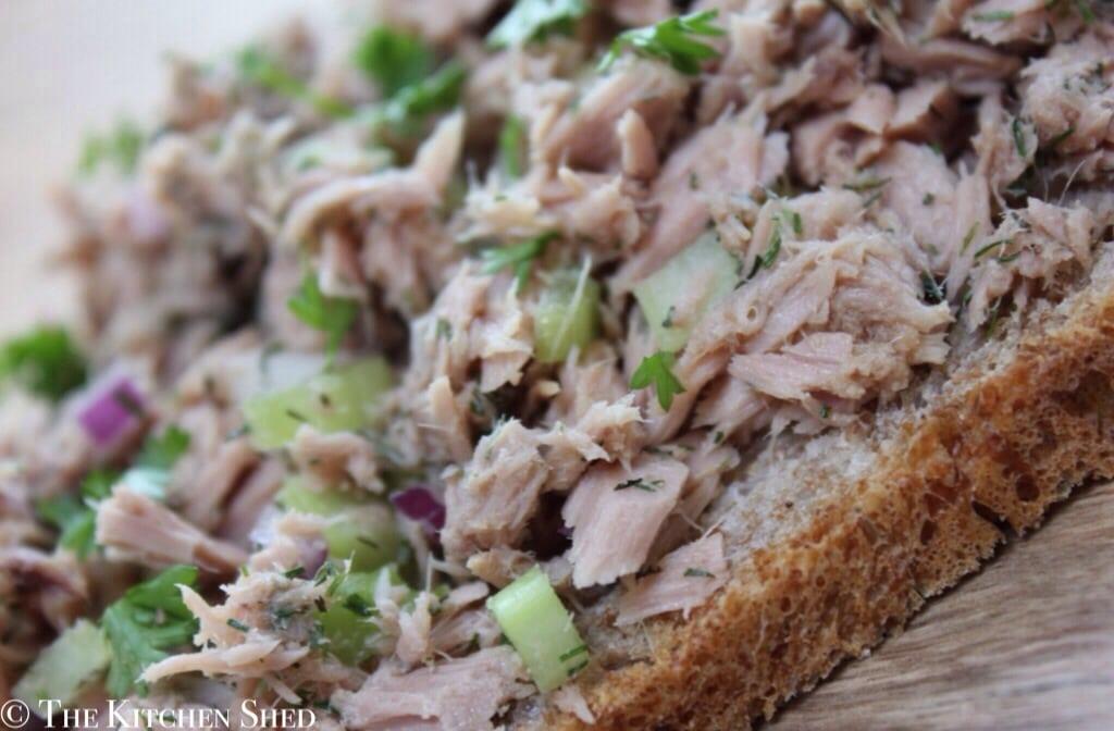 Clean Eating Tuna Sandwiches