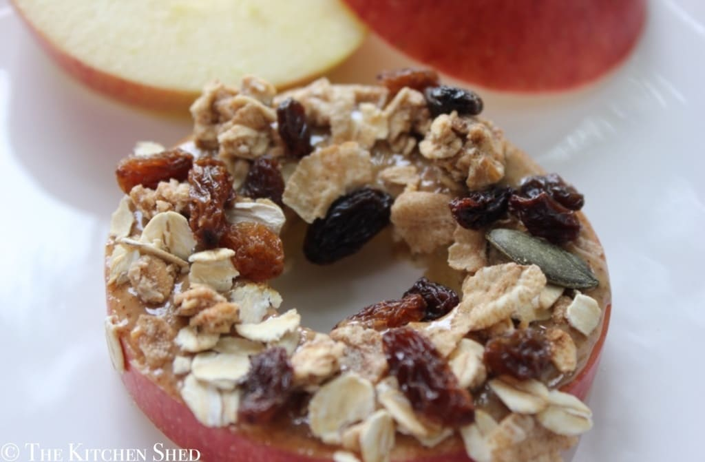 Clean Eating Apple Ring Snacks