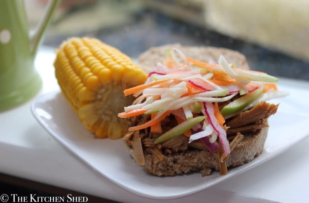 Clean Eating Slow Cooker Pulled Pork