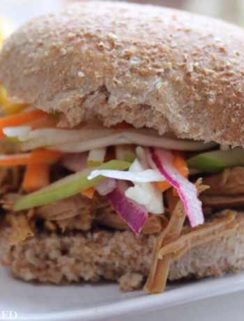 Clean Eating Slow Cooker Pulled Pork