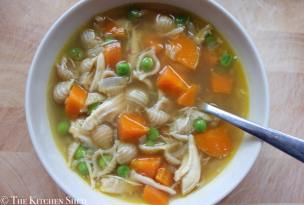 Clean Eating Homemade Chicken Soup