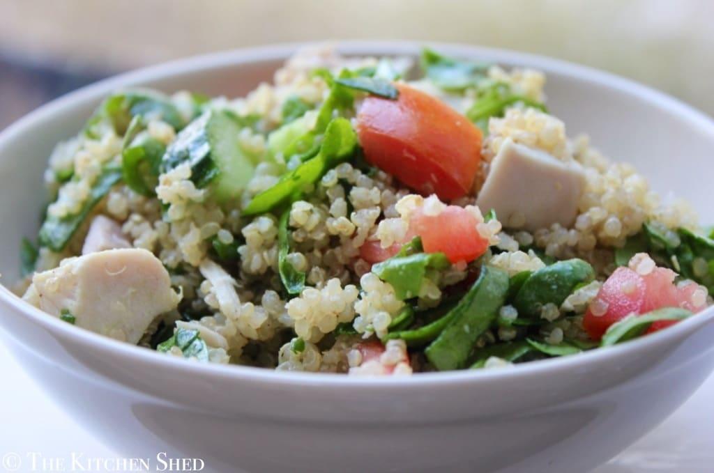 Clean Eating Quinoa Salad