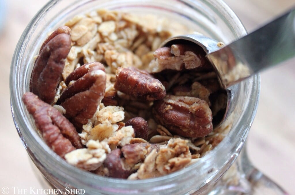 Clean Eating Maple Pecan Crunch
