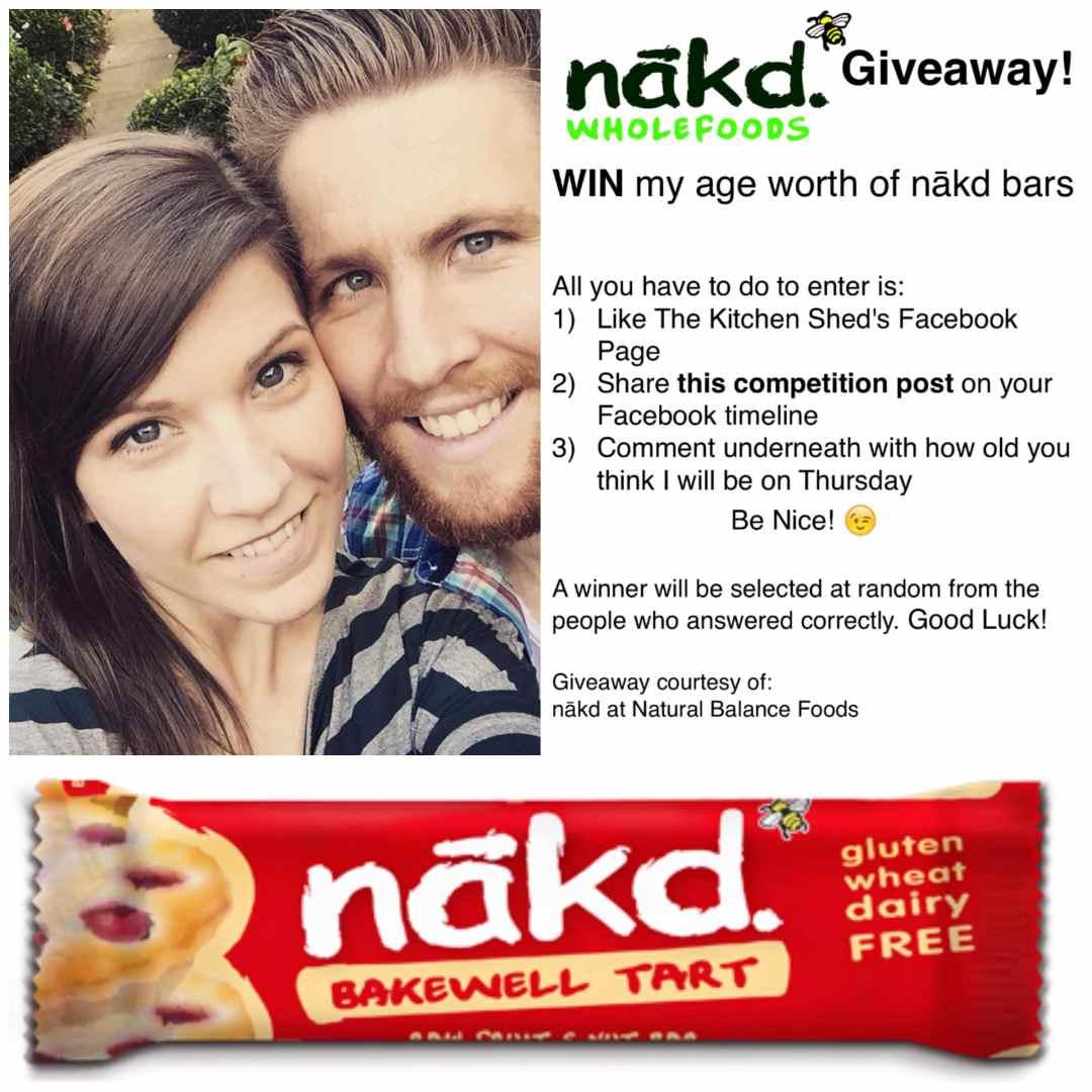 Nakd Bar Giveaway! www.thekitchenshed.co.uk