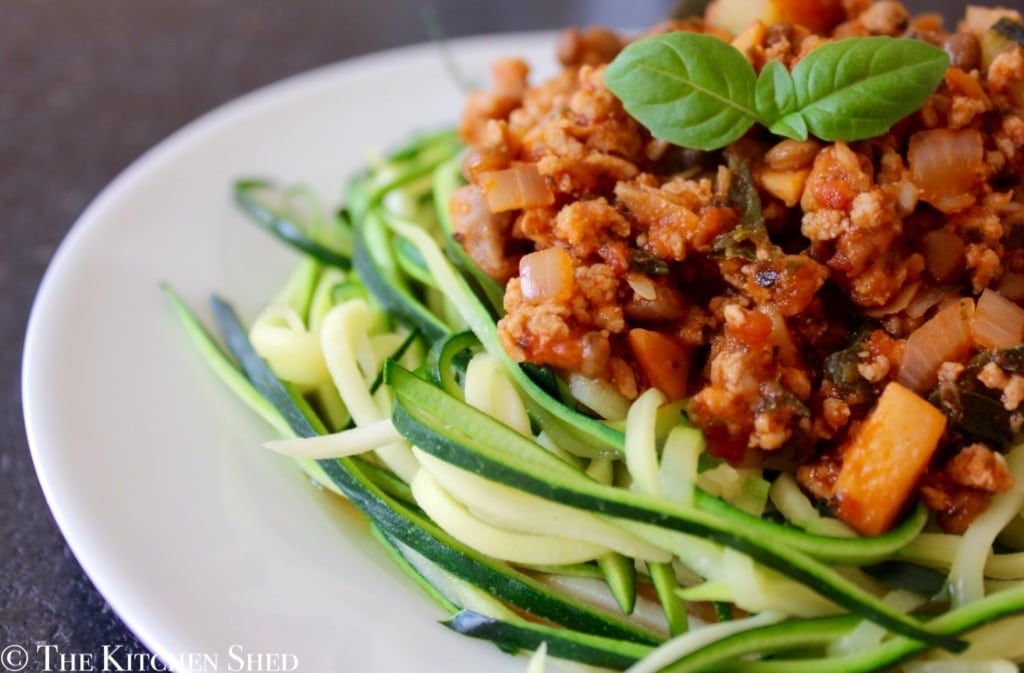 Clean Eating Turkey Lentil Bolognese
