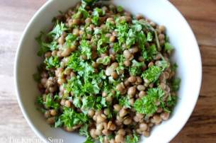 Clean Eating Quick Lentil Salad