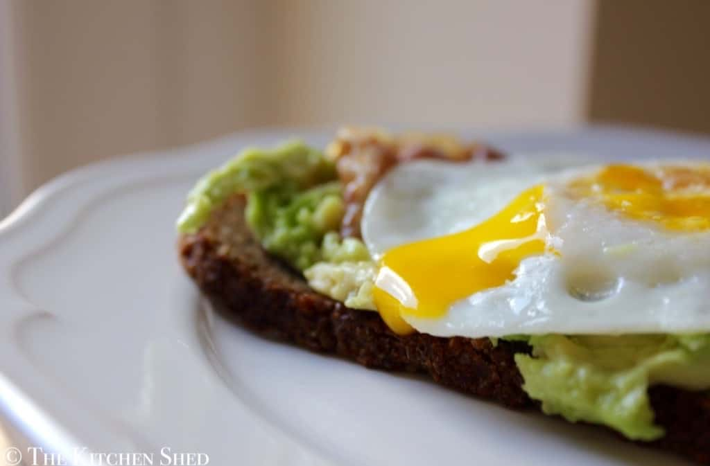 Clean Eating Breakfast Toast