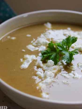 Clean Eating Winter Vegetable & Chestnut Soup 1
