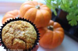 Clean Eating Pumpkin Muffins