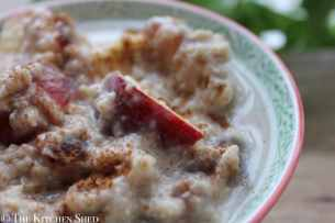 Clean Eating Winter Porridge Oats