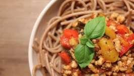 Clean Eating Pork & Pepper Bolognese