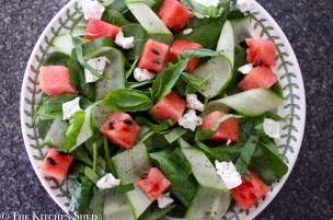 Clean Eating Watermelon Salad