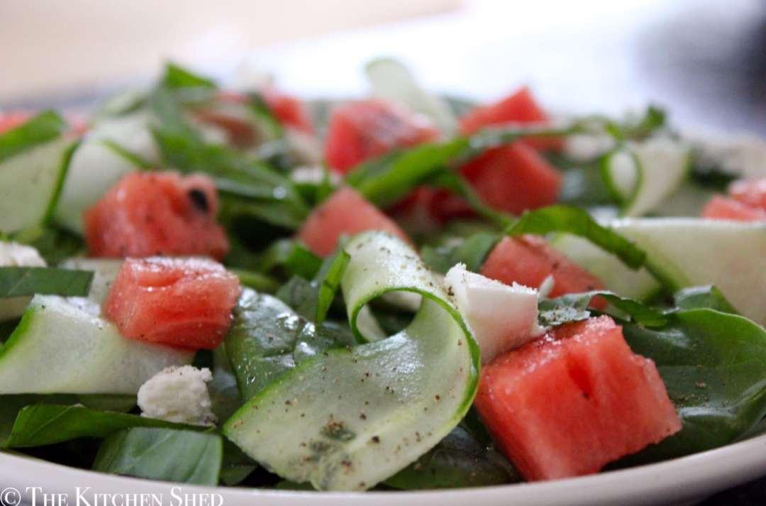 Clean Eating Watermelon Salad