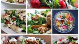 Clean Eating 7 Day Salad Challenge