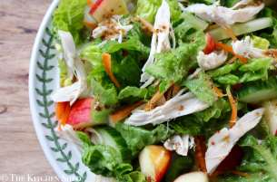 Clean Eating Autumn Chicken & Apple Salad