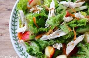 Clean Eating Autumn Chicken & Apple Salad