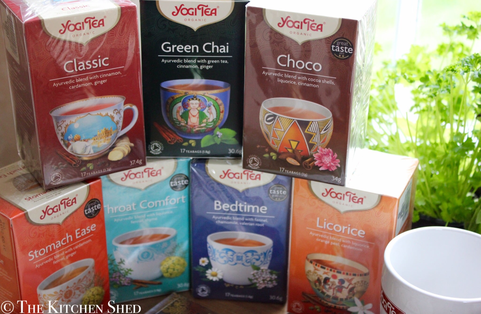 Yogi Tea Giveaway