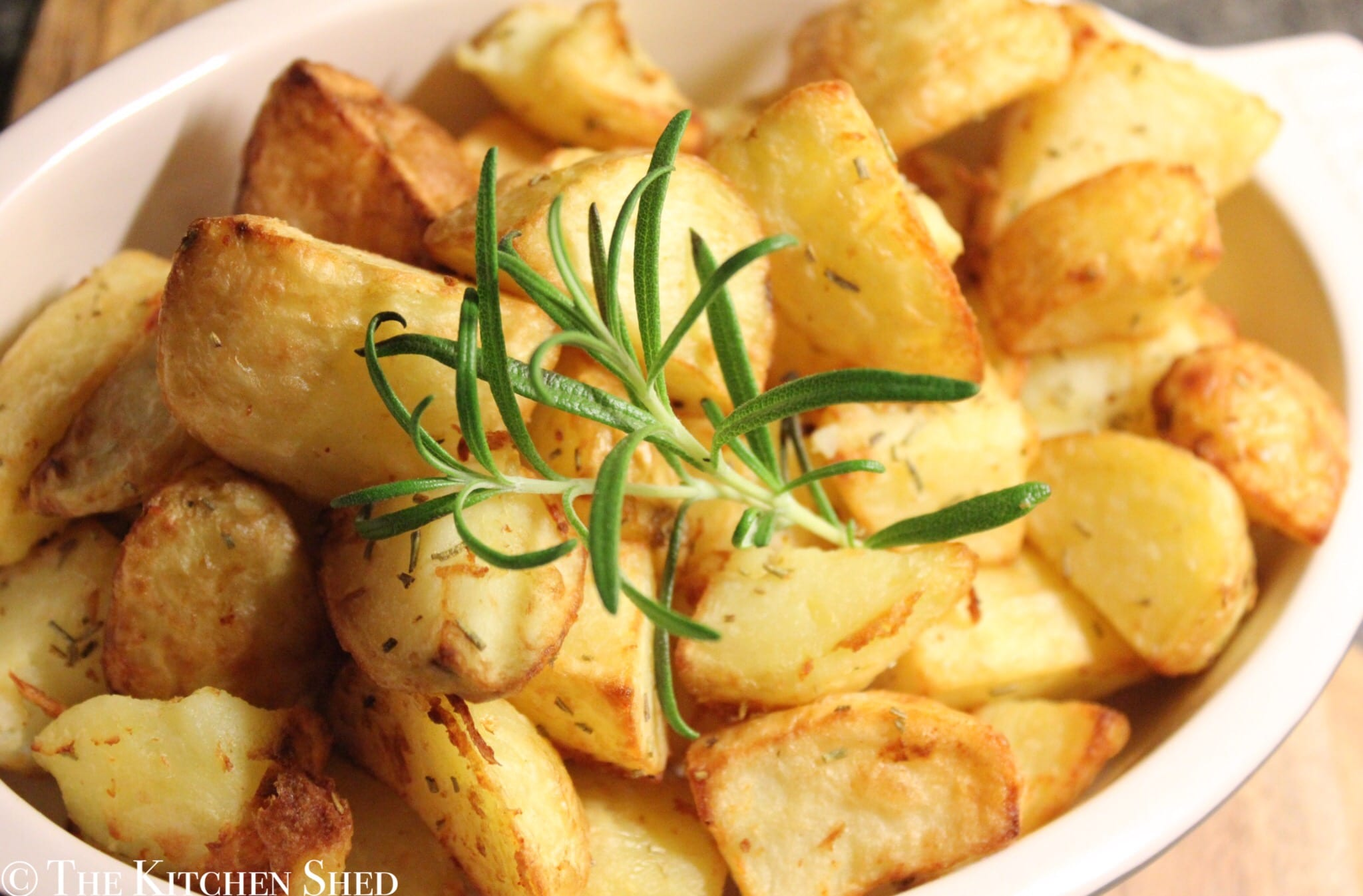 Clean Eating ActiFry Rosemary Roasted Potatoes