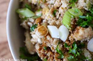 Clean Eating Egg Fried Cauliflower Rice