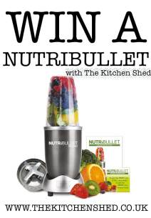 WIN A NUTRIBULLET with The Kitchen Shed's 3rd Birthday