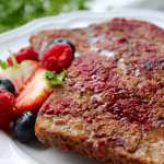 Clean Eating Raspberry French Toast 1