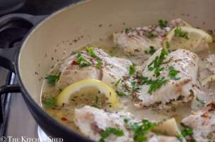 Clean Eating Lemon & Rosemary Baked Haddock