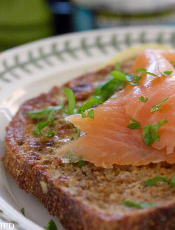 Clean Eating Savoury French Toast & Smoked Salmon 1