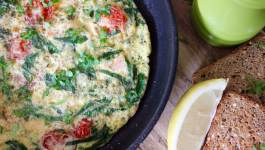 Clean Eating Smoked Salmon & Veggie Omelette 1