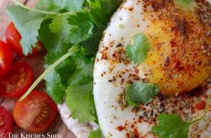 Clean Eating Mexican Fried Egg