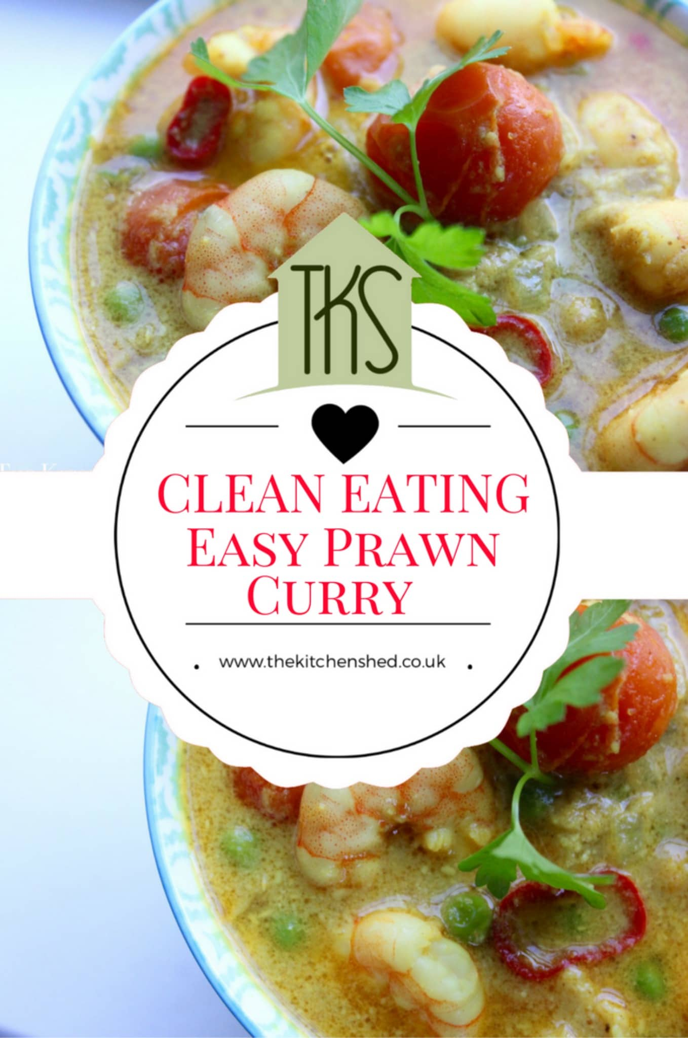 Clean eating easy prawn curry the kitchen shed clean eating chickpea sweet potato spinach curry forumfinder Images