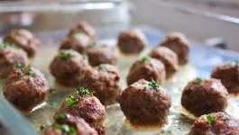 Clean Eating Turkey Fajita Meatballs