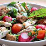 Clean Eating Chicken & Basil Salad