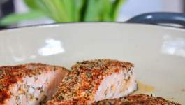 Clean Eating Cajun Salmon (Aldi) 1
