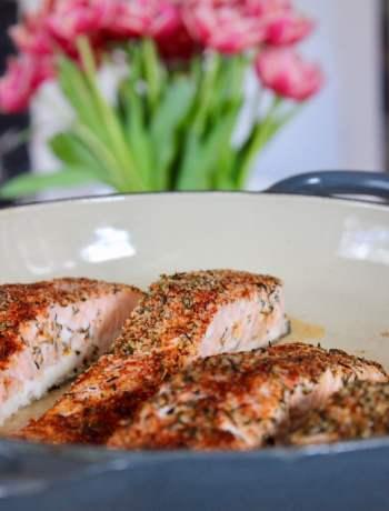 Clean Eating Cajun Salmon (Aldi) 1