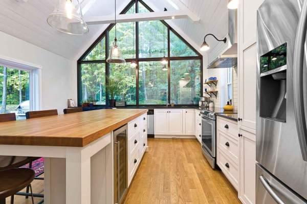 warm kitchen design Wood countertops – Denver Kitchen Design, Remodeling