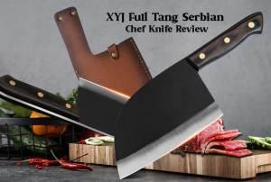 XYJ Full trang Serbian Chef Knife