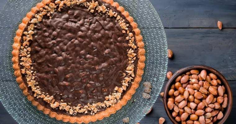 Torta Snickers al Caramello e Noccioline 🍯🥜🍫
