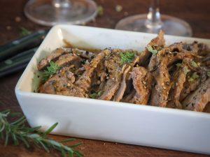 Roast beef all'italiana