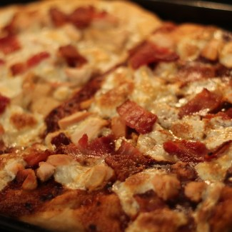 Spicy Barbecue Chicken Pizza