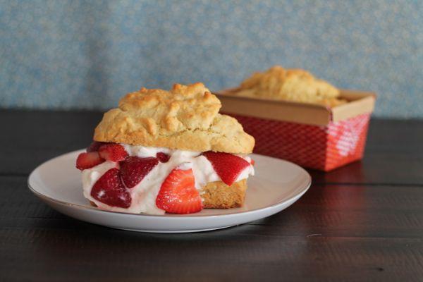 Vanilla Bea Strawberry Shortcake